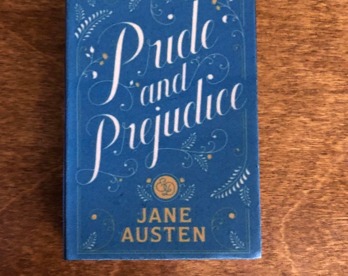 1:3 Scale Jane Austens Pride and Prejudice doll sized mini book for American Girl Dolls