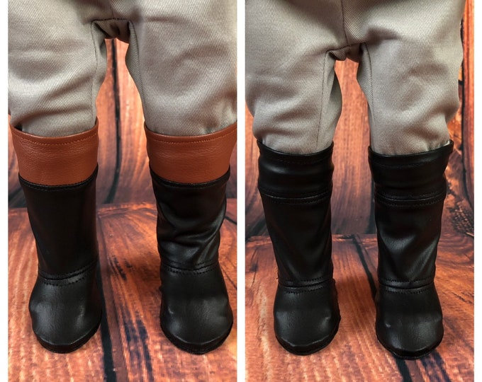 Regency High Top Boots for America Girl 18 Inch Dolls