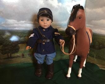 Civil War Uniform for American Girl Doll Logan