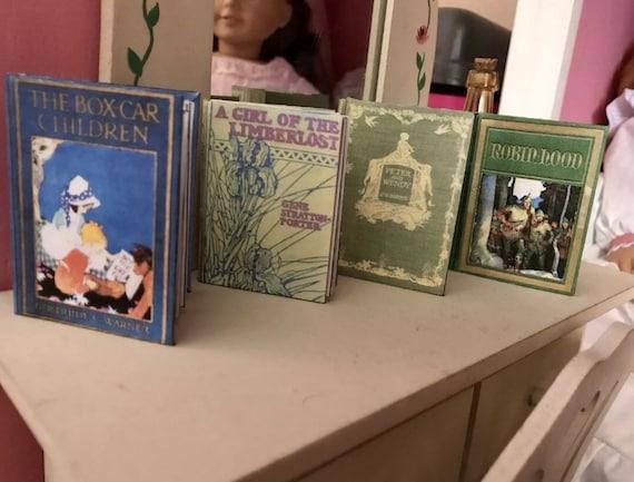 REBECCA OF SUNNYBROOK FARM Book in 1:3 Scale Book Dollhouse Miniatures Book