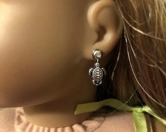 Turtle Earring Dangles for 18 inch American Girl Doll Lea Clark Girl of the Year