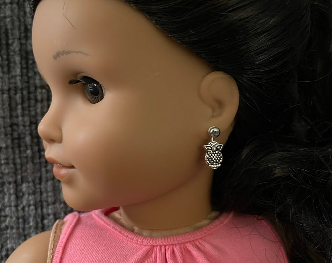 Owl Earring Dangles for 18 inch American Girl Doll Blaire Wilson Girl of the Year (Dangles Only)