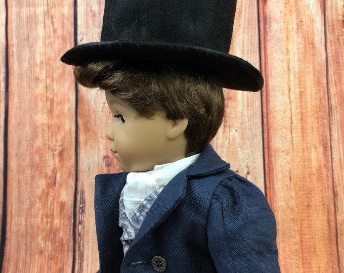 Regency Top Hat for America Girl 18 Inch Dolls