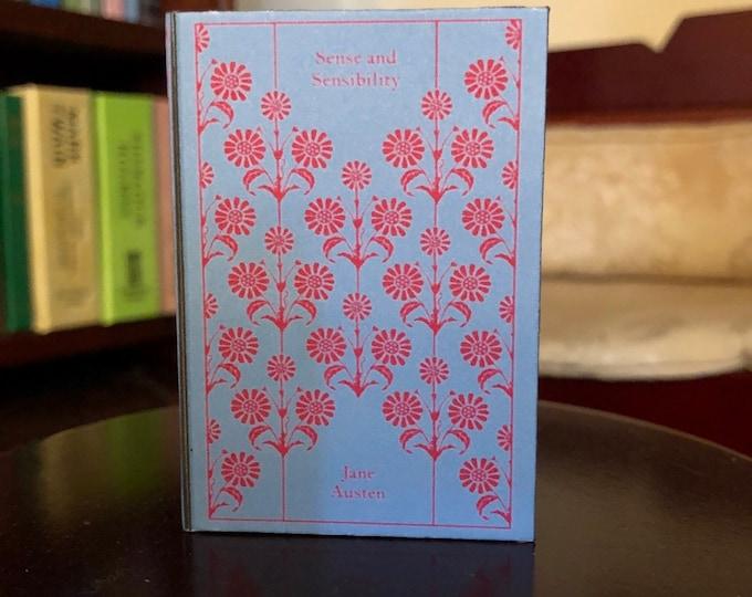 1:3 Scale Jane Austens Sense and Sensibility doll sized mini book for American Girl Dolls