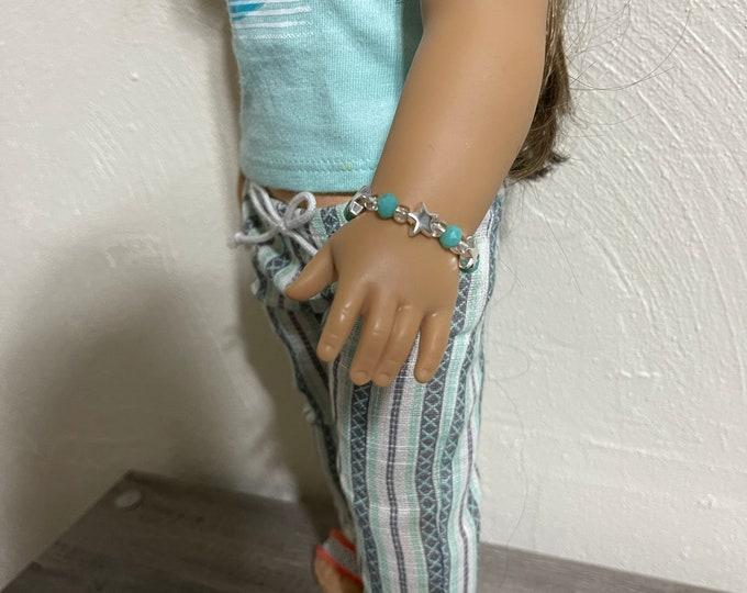 Star Charm Bracelet for American Girl Dolls