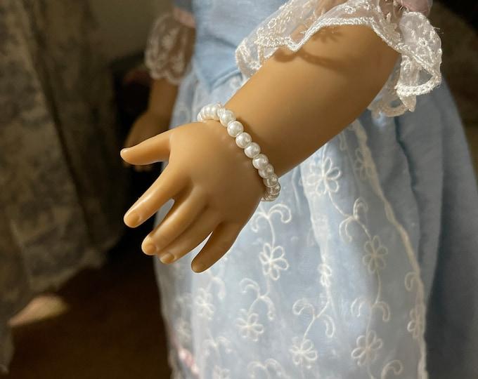 Pearl Bracelet for 18 inch American Girl Dolls