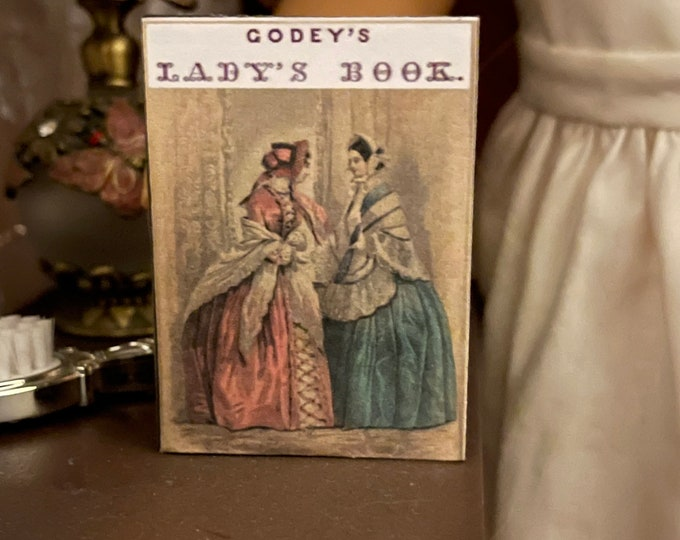 Godey's Ladies Book Miniature 1:3 Scale Book for American Girl Dolls