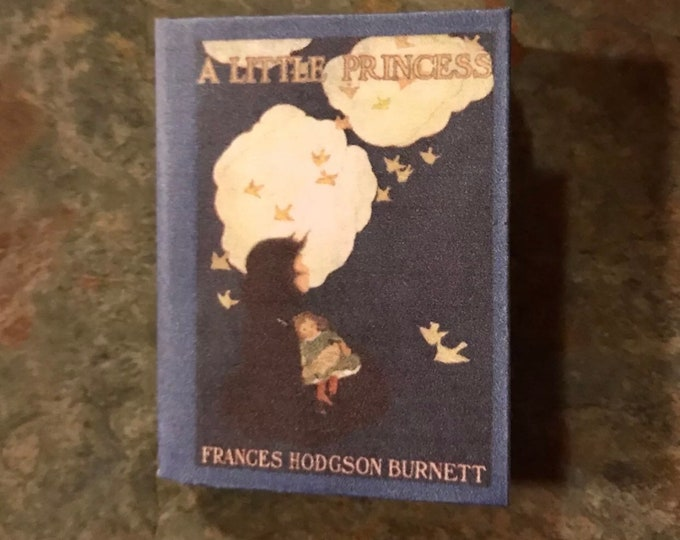 Doll Sized Little Princess mini book for American Girl Dolls