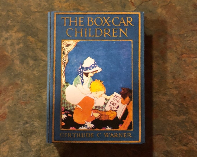1:3 Scale The Boxcar Children doll sized mini book for American Girl Dolls