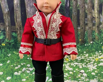 Prince Outfit for 18 inch American Girl Boy Dolls