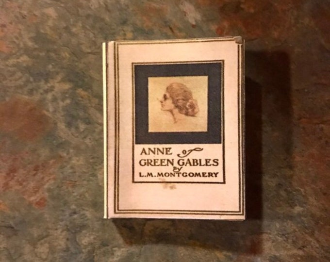 1:3 Scale Doll Sized Anne of Green Gables mini book for American Girl Dolls