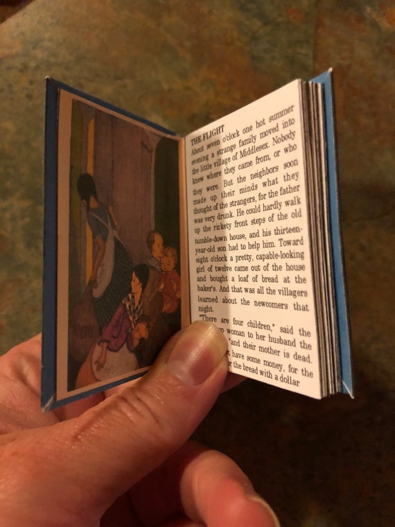 McGUFFEY SPELLING 1:3 Scale Book American Girl Doll Miniatures Book Ingalls