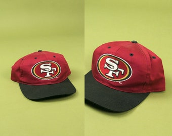 SAN FRANCISCO 49ERS Snapback ⋆ Sports Specialties One Size Fits All Logo  Script ⋆ Vintage NFL Football Hat Bay Area Hyphy Streetwear 94f45a315