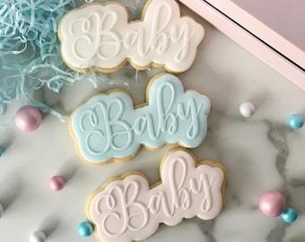 Baby Feet Cookie Fondant Embosser Stamp Baby Shower Cookie Baby Girl Baby Boy