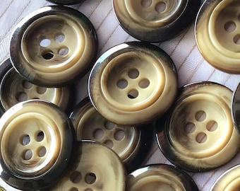 Brown Coat Button, Button Reg 5.90 Solid Button 28mm Decorative Button bakelite