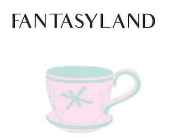 PREORDER Fantasyland Enamel Pin Series - Teacup IN PRODUCTION