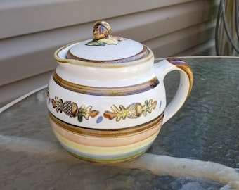 Louisville Stoneware Oak & Acorn Chamber Pot ?