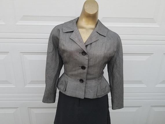 Vintage 40s-50s Cropped Jacket Sz S