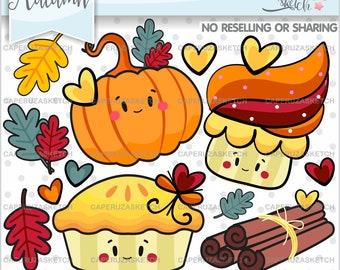 Thanksgiving Clipart, Thanksgiving Graphics, COMMERCIAL USE, Autumn Clipart, Thanksgiving Party, Thanksgiving Celebration, Pumpkin Clipart