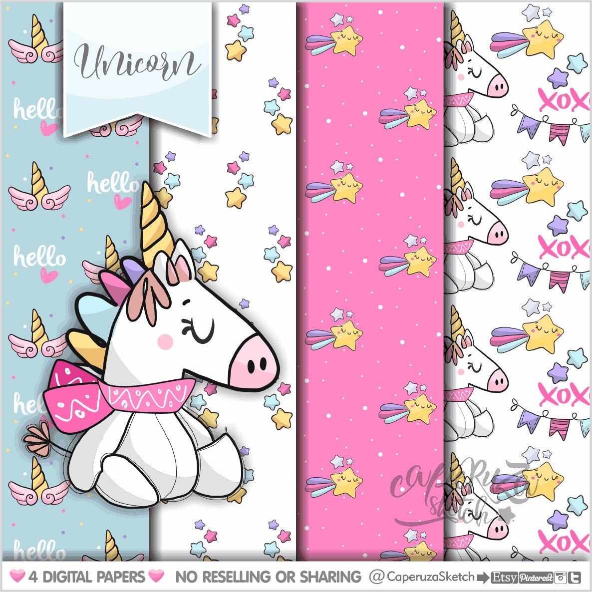 Unicorn Pattern Best Design Inspiration