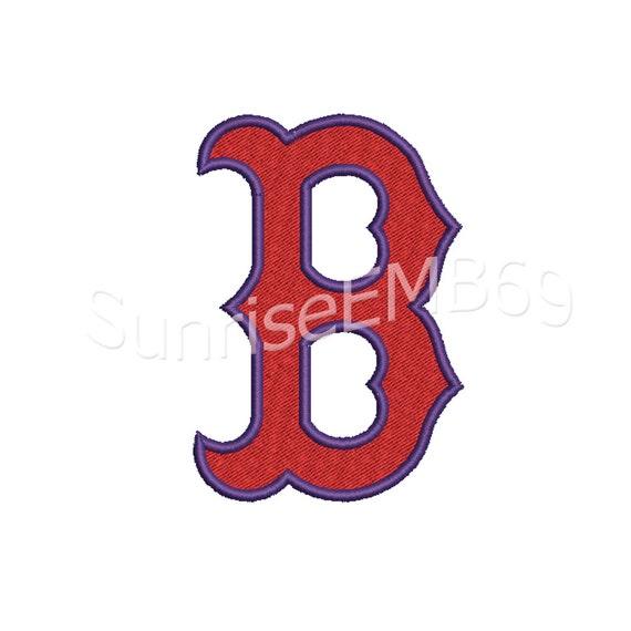 11 tamaños ** formatos de diseño-7 Boston Red Sox bordado diseño bordado -  Descargar Instant patron para bordar a máquina de la máquina