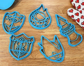 Legend of Zelda Cookie Cutters Heart Container Ocarina | Etsy