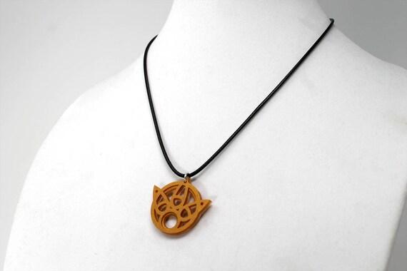 Final Fantasy X Yuna Staff Symbol Keychain//Necklace FFX gift Final Fantasy 10