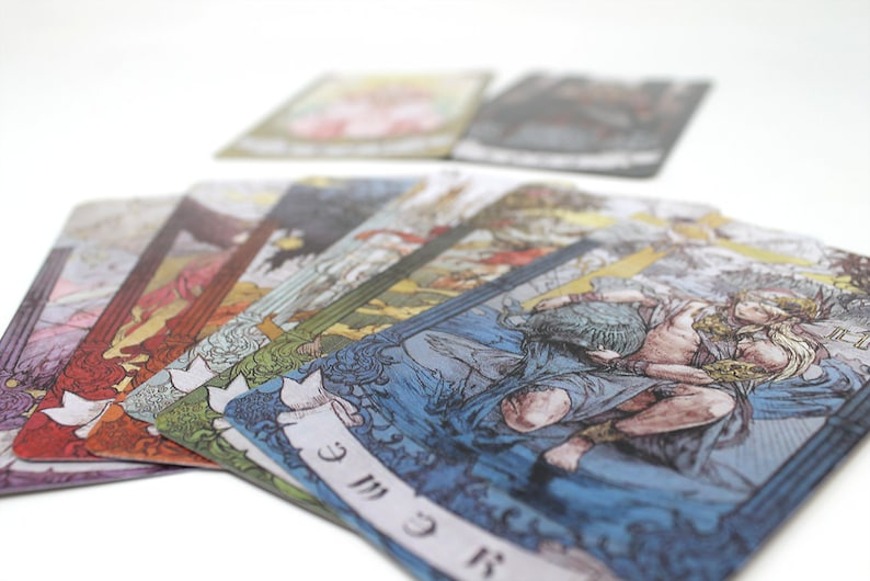 FFXIV Astrologian Cards Set, AST FF14 Final Fantasy 14 Lord and Lady  Included FFXIV Cosplay