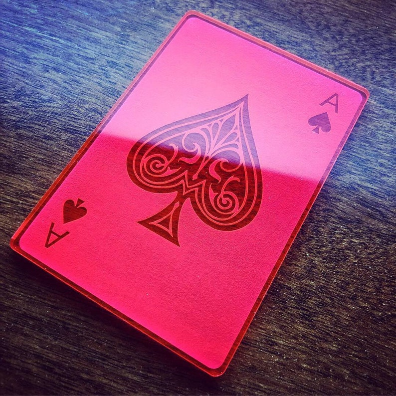 Gambit Neon Playing Cards from Marvel's X-Men in Day-Glow (or card)