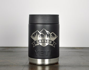 Groomsman Gift Idea / Custom Engraved YETI Colster/ Bridal Party Gifts