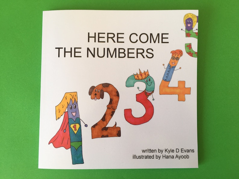 Here Come The Numbers: Signed by Kyle & Hana image 0