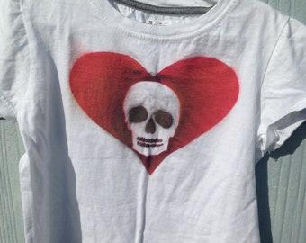 Hand Painted Child''s Tee Shirt