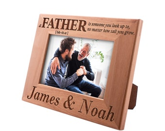 Personalized Father's Day Gift Picture Frame 4x6, Best Dad Ever, Gift for my Father, New Dad Gift, Gift for Daddy Papa Grandpa #5