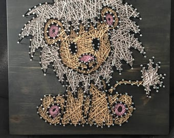 Baby Lion String Art