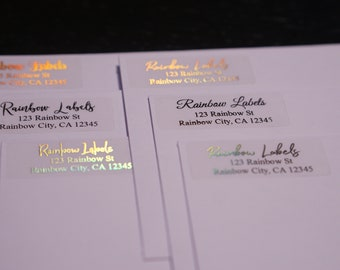 Rainbow Labels