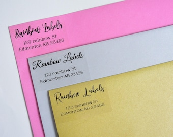 address labels etsy