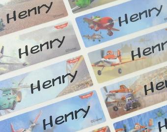 Disney Planes stickers, Dusty Crophopper Character, Back to school, planes bottle labels, plane sticker name,plane labels custom, LARGE