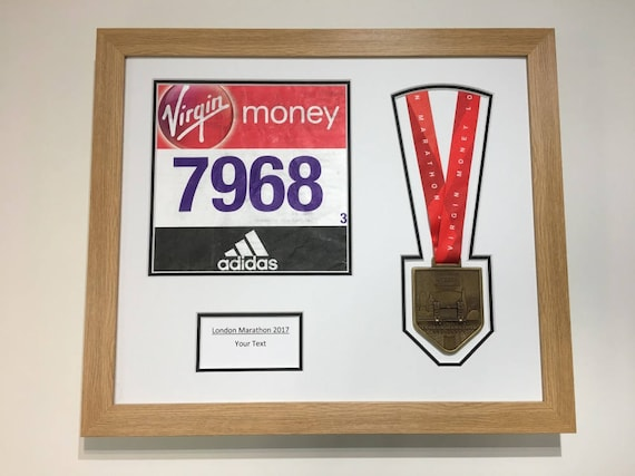 London Marathon 2018/17 Display Frame for Medal/Running | Etsy