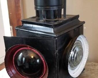 Vintage train switch lantern