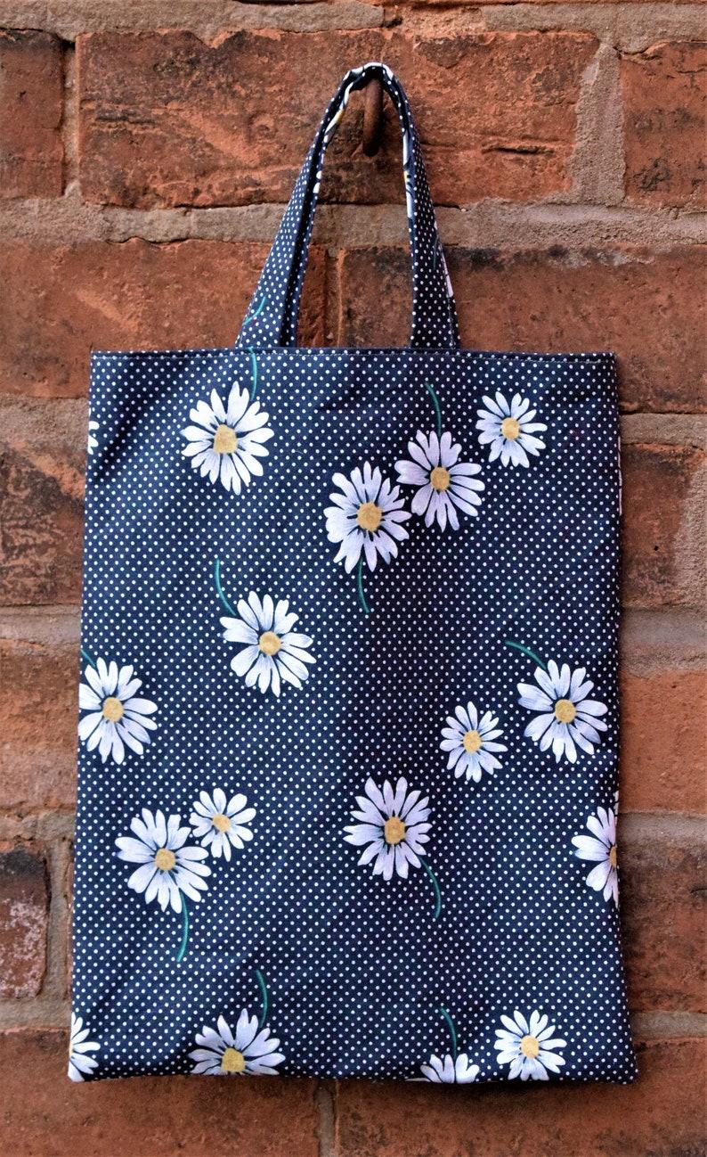 95c598811d5dc Niebieski worek tkanina tkanina Tote Blue torba na zakupy