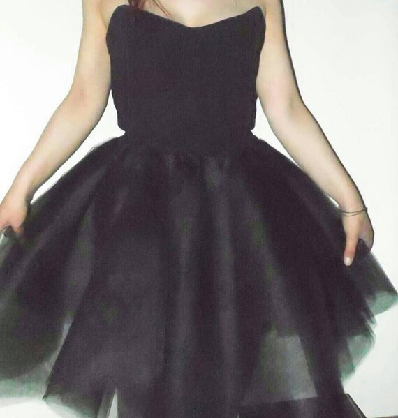 Robe soiree tutu noire