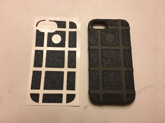 wholesale dealer fd54e 2f859 Magpul IPhone 8 Tactical Textured Rubber Grip Enhancement Wrap for Cell  Phone