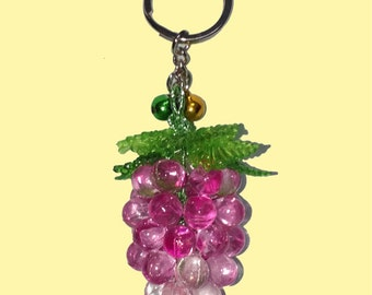 Grape bunch ,bead,Key Chain