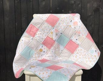 Baby quilt/blanket.