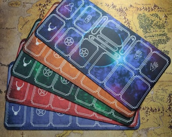 Player Mat for Arkham Horror LCG, Arkham themed Gameplay Mat, Player Area Mat, Card playmat for Arkham Horror Game, Neoprene Printed Playmat