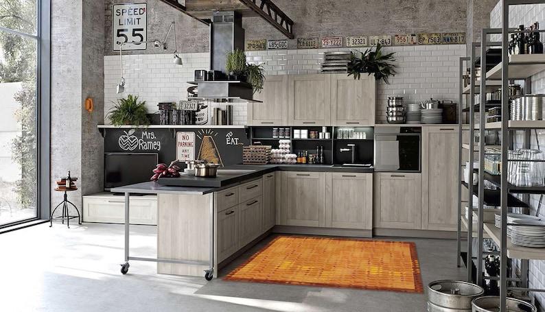Küche-Vinyl-Bodenmatte, PVC-Teppich, Schlafzimmer, Wohnzimmer,  künstlerische Matte, Haustier Teppiche, Wohndesign, Wohnkultur, klassische  Teppich, ...