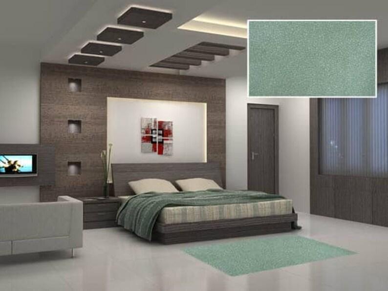 Green Floor Mat, Bedroom Area Rug, Linoleum Rug, PVC Rug, Bedroom Carpet,  Large Floor Mat, Large Area Rug, Green Room Decor, Bedroom Mat