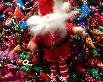 Father Christmas - Fabulous Frazzled Felt Santa