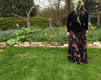 Sofia - Full Length Maxi Skirt with Harem Style Waistband