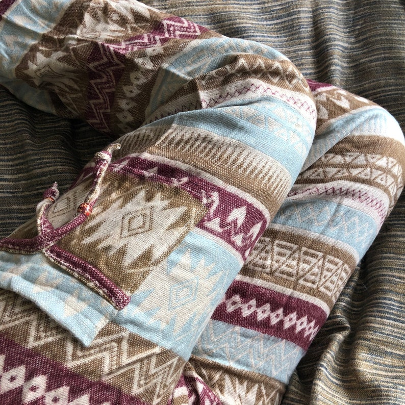 Natasha  Baggy Blanket Pants Warm and Comfortable One Size Brown